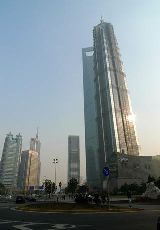 目覚しいスピードで発展する上海