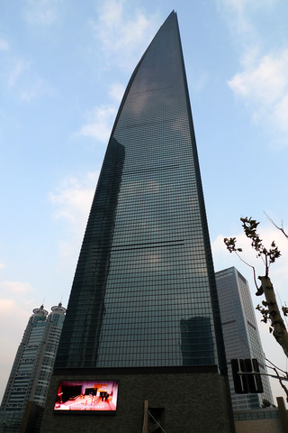中国・上海の上海環球金融中心(SWFC) @上海森ビル