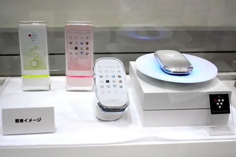 イオン発生機能搭載ケータイの将来イメージ CEATEC JAPAN 2010